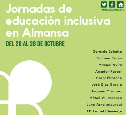 I Jornadas de Educación Inclusiva Almansa'18